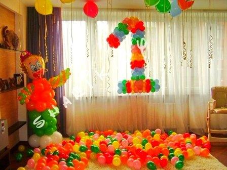 Шары для дня рождения ребенка