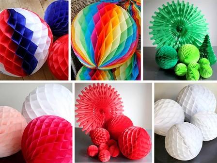 Как сделать шар из бумаги в картинках 103