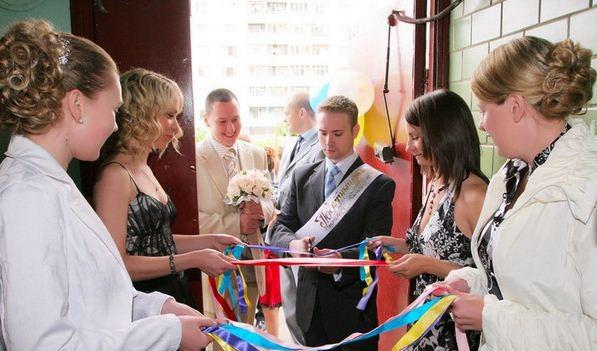 Выкуп невесты в стихах конкурсы для жениха